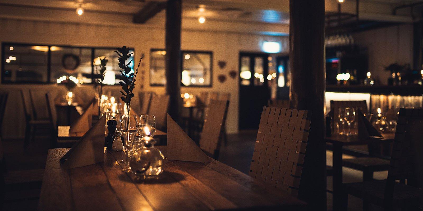 En restaurang i Stockholm City